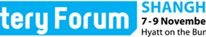 EV Battery Forum logo with flag Asia